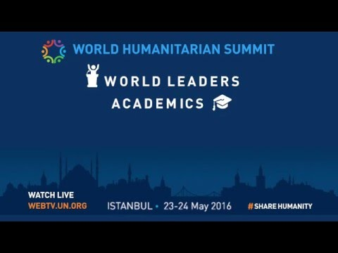 Watch LIVE on UN Web TV the World Humanitarian Summit!