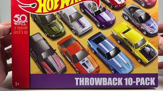 Throwback 10 Pack - Target Hot Wheels 50th