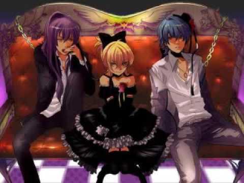 [VOCALOID] KAITO, Gakupo, Len-IMITATION BLACK
