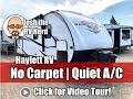 UPDATED 2019 Open Range 2102RB Ultralite Carpetless Rear Bath Quiet AC Couple's Travel Trailer