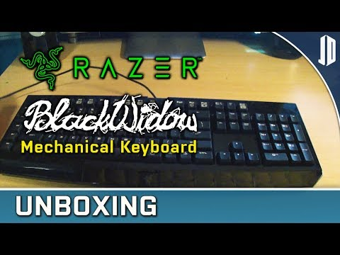 Razer BlackWidow Expert Mechanical Gaming Keyboard Unboxing and Review