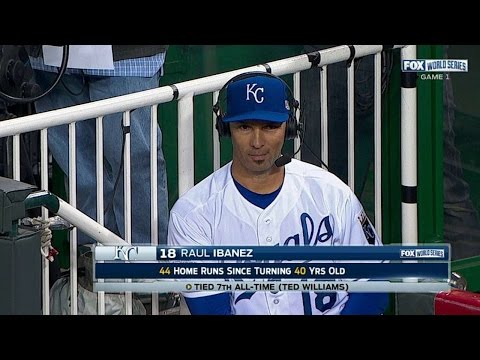 WS2014 Gm1: Ibanez on Royals' mindset, battling back