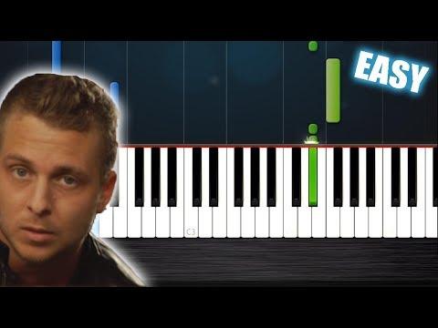 Apologize  One Republic  EASY Piano Tutorial  PlutaX  Synthesia