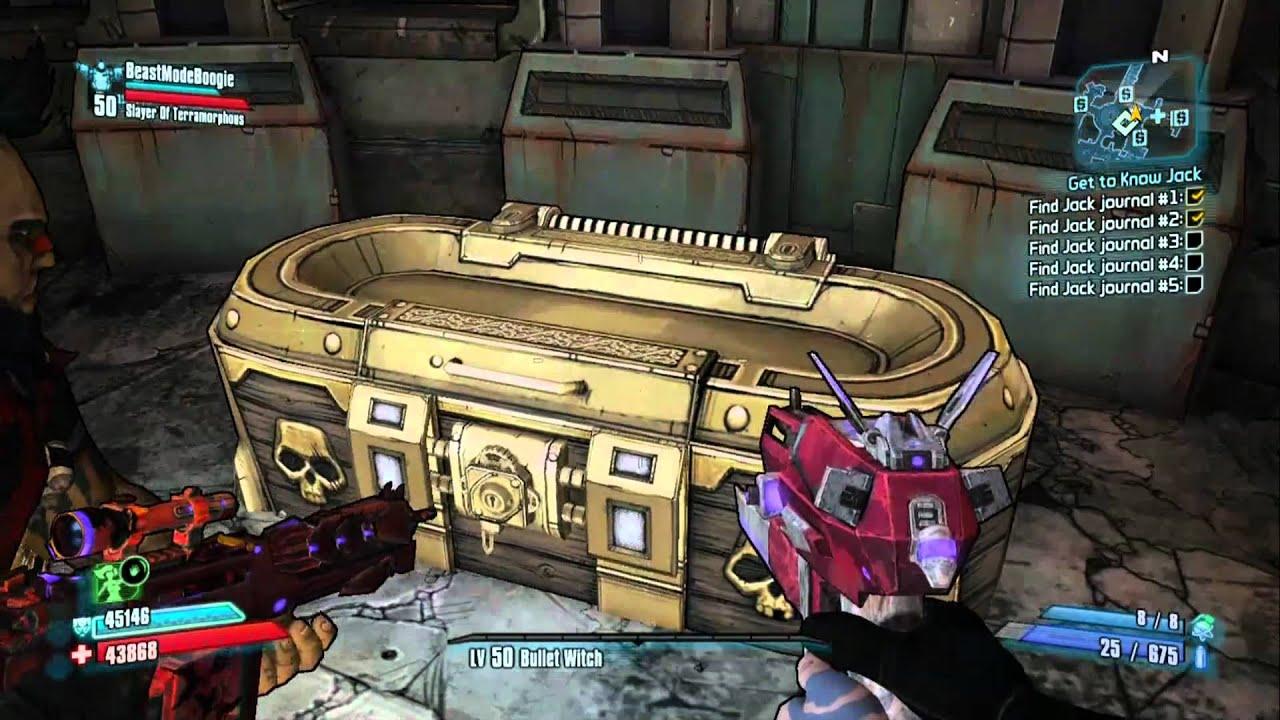 Borderlands 2 golden chest glitch patched works