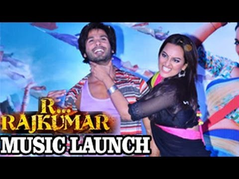 Shahid & Sonakshi's GANDI BAAT at R...Rajkumar Music Launch