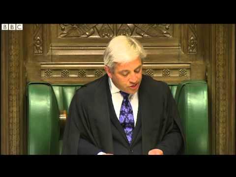 BBC News   John Bercow orders Commons clerk recruitment pause