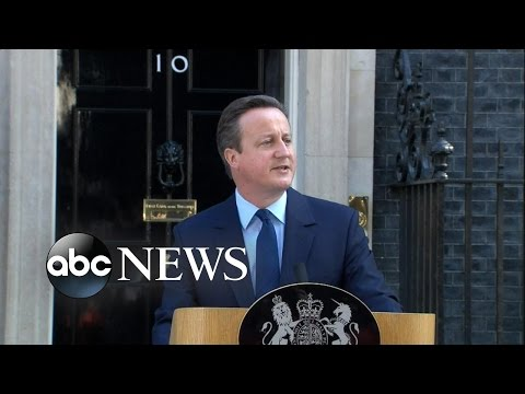 David Cameron Resigns After Brexit Vote