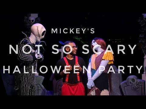 Mickey's Not So Scary Halloween Party 2017 | Jack Skellington Meet & Greet