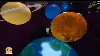 Bubble Gum In Outer Space + Rocket Ship to Planets ! Bubblegum Simulator Roblox Video