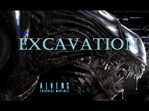 Aliens: Colonial Marines Online Multiplayer: Extermination at Excavation