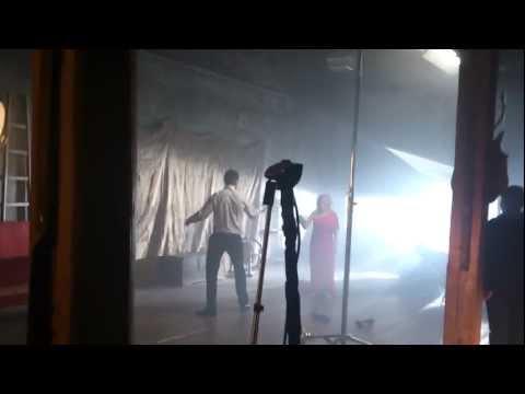 "Съемки клипа ""Без меня"", сцена с Даниилом Страховым"