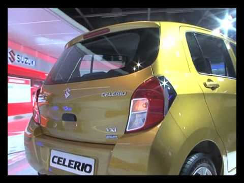 Auto Expo 2014   Maruti Celerio