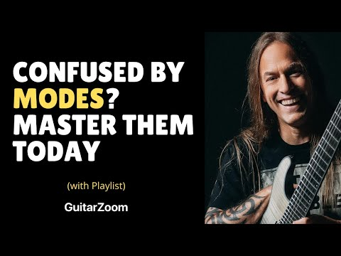 Lesson Guitar - Scales And Modes