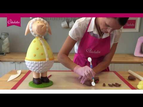 Baby Fondant Torte Teddy Bär - Strickmuster Box / Bear Cake ...