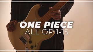Download Lagu ONE PIECE OPENINGS 1-15 (ワンピース全オープニング) Gratis STAFABAND