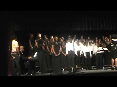 Angel Williams, Robert Coleman, and Bottenfield Middle School Choir singing cover of Seasons of Love