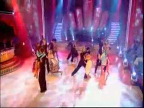 The girls perform a group Cha Cha Cha as the boys compete in Round 1 of Strictly Come Dancing. Heather Small dances with her professional dance partner Brian...