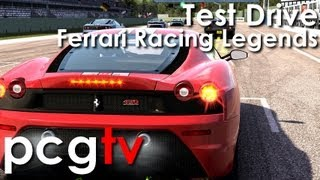 Test Drive Ferrari Racing Legends Gameplay (PC HD)