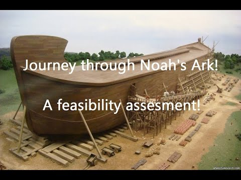 Minecraft video: Noah's Ark Proven (exact replica)