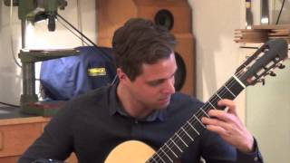 Federico Moreno-Torroba: Madroños, double top classical guitar from Carsten Kobs