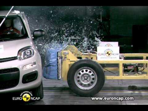 Euro NCAP | Fiat Panda | 2011 | Краш-тест