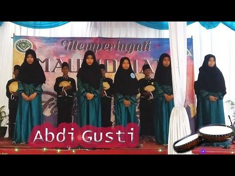 Abdi Gusti   Hayyul Hadi - Arrobbu Sholla + Lirik   Fesban Amanatul Ummah Surabaya