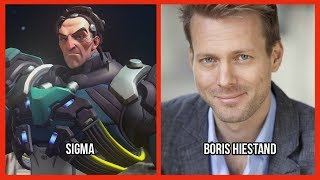 Characters and Voice Actors - Overwatch (Update 6)