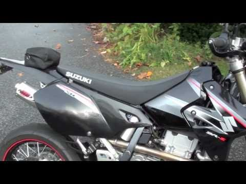 2006 DRz400sm Overview & MRD Exhaust Sound!