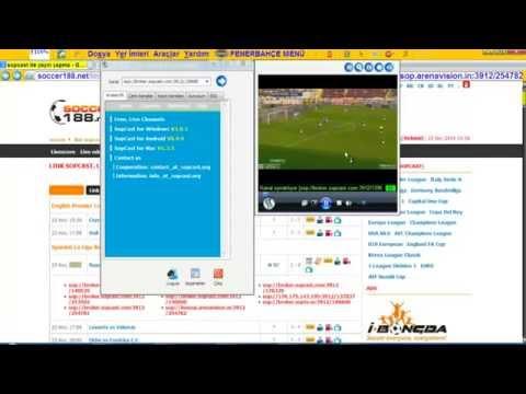 Sopcast Kullanımı sopcast nasıl kullanılır