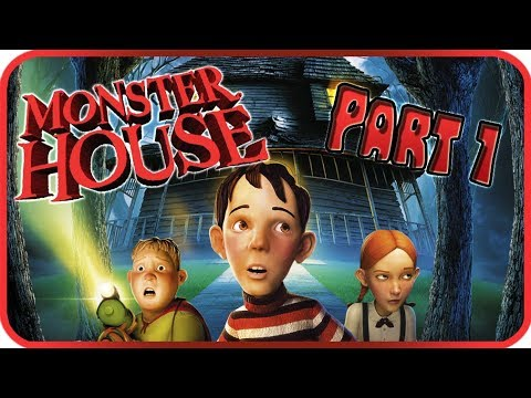 Monster House Walkthrough Part 1 (PS2, Gamecube) Game Movie Chapter 1