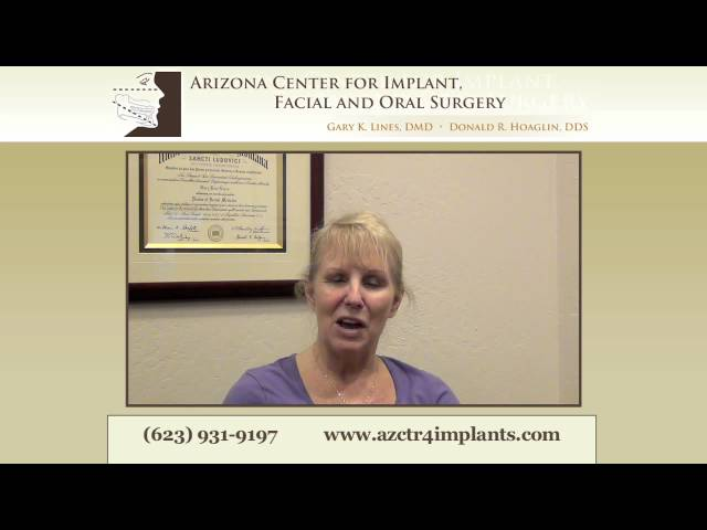 "Phoenix Dental Implant Patient: ""It was painless!"""