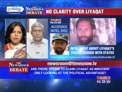 The Newshour Debate: Is Liyaqat Ali, a terrorist, being used as political advantage? (Part 1 of 3)