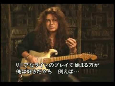 Yngwie Malmsteen Talking About Speed From The Young Guitar Instruction Video