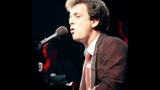 Piano Man Billy Joel with lyrics