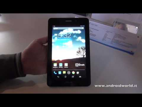 ASUS Fonepad, anteprima in italiano by AndroidWorld.it
