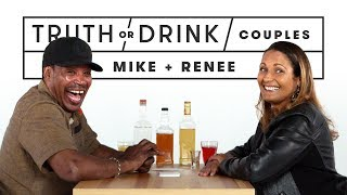 Couples Play Truth or Drink (Mike & Renee) | Truth or Drink | Cut