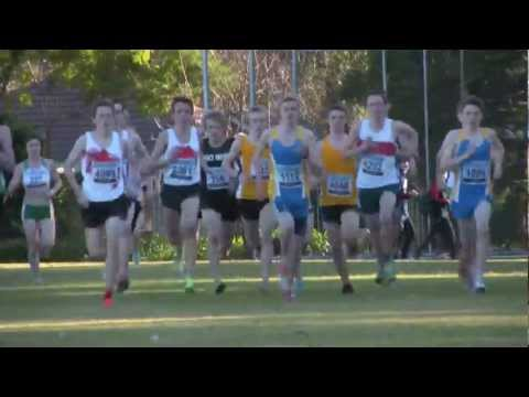 2012 U20 & U18 Men NSW Short Course XC