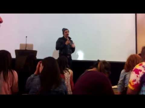 James Franco Speech - Paly Media Arts Center Grand Opening