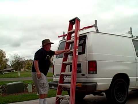 Ladder Rack Loading Cross Bar -HigleyMetals.com