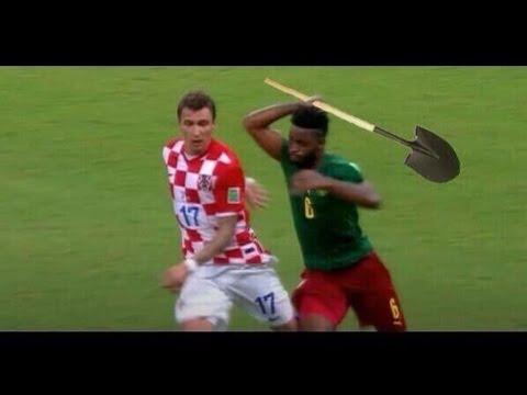 Alex Song Red Card vs Croatia