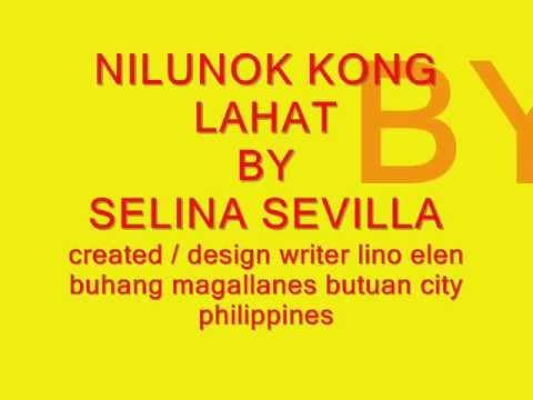Nilunok Ko'ng Lahat By Selina Sevilla (With Lyrics) Chords ...