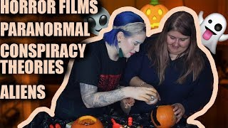 Pumpkin Carving & Spooky Talk | Letting Loose With Laumin