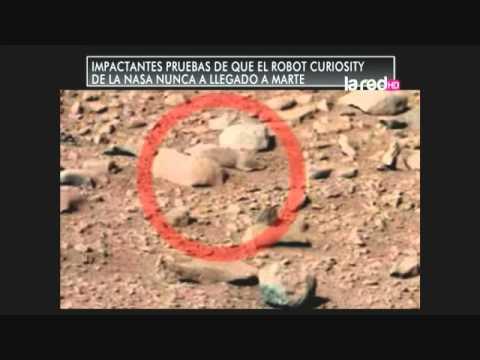 Impactantes pruebas de que el robot Curiosity de la NASA nunca ha llegado a Marte