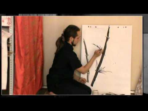 Видео как нарисовать бамбук