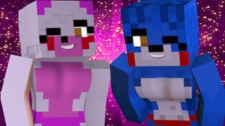 "FNAF World Five Nights in Anime - ""ANIME FUNTIME FOXY"" (Minecraft Roleplay) Night 1"