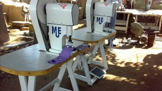 Eyelet punching machine [m u e]