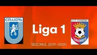 LIVE Liga 1 Csu Craiova vs Chindia Targoviste