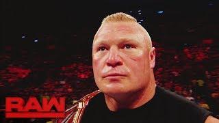A look back at the chaotic brawl between Brock Lesnar and Samoa Joe: Raw, June 19, 2017