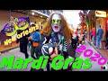 NEW ORLEANS 2020 |  'MARDI GRAS!' In New Orleans, LA.  U.S.A. IN 4K