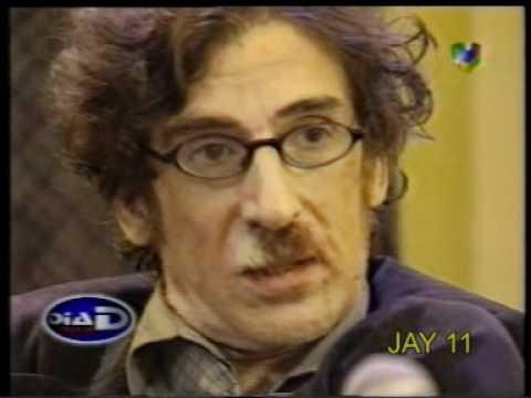 Charly Garcia y lanata, momento tenso. Despues de estar preso en rosario DiaD